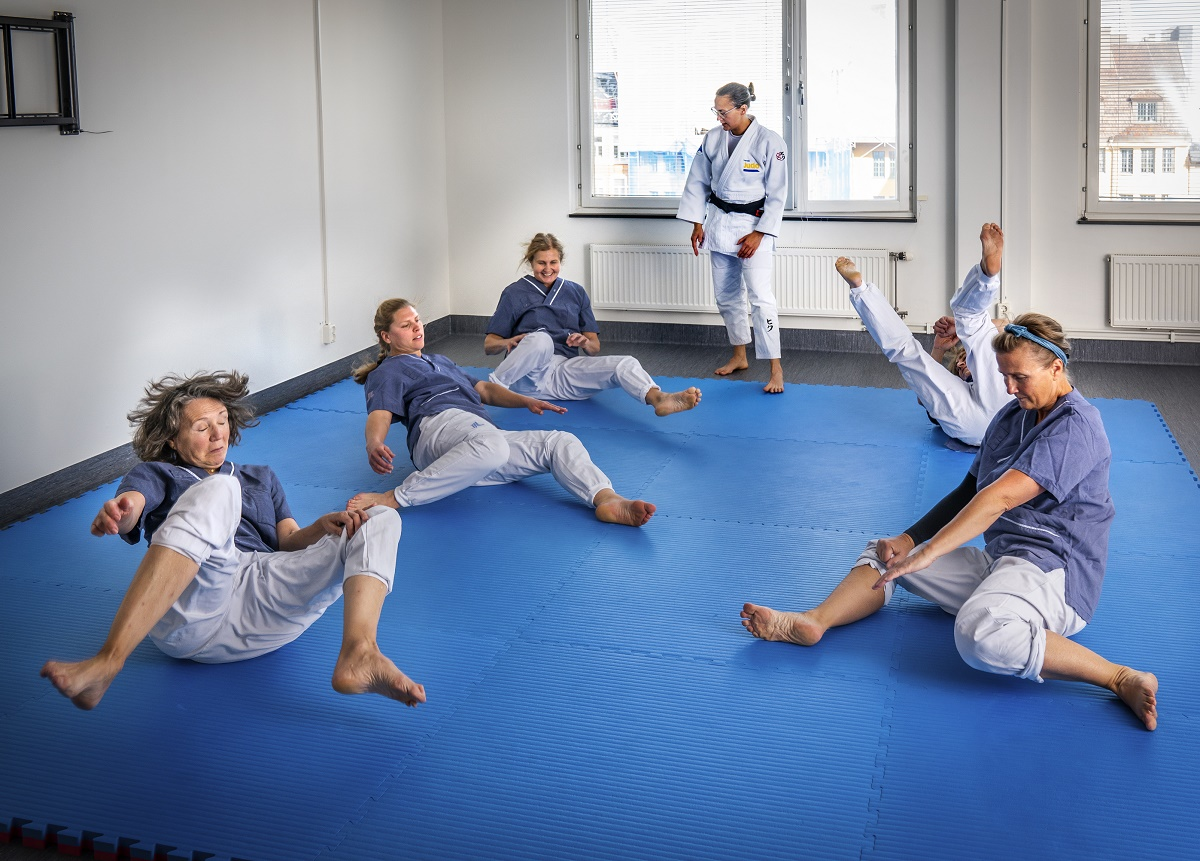 Judoinspirerad fallträning