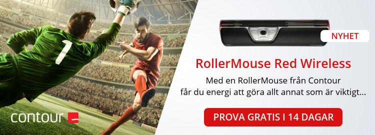 Annons för Rollermouse
