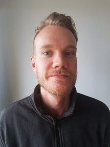 Fredrik Nordin; fysioterapeut och debattskribent.