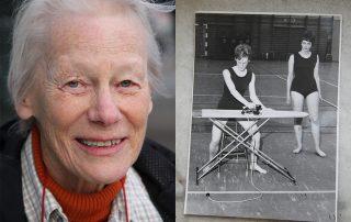 Kristina Bechtold minns sin yrkesbana som sjukgymnast